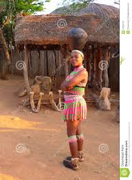 Zulu Women In Traditional Closes Shakaland Village South Africa