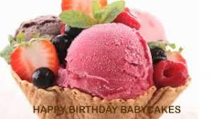 Babycakes Birthday Ice Cream Helados Y Nieves