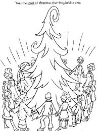 Whoville Christmas Tree by Coloring Pages