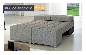canapé d angle convertible couchage quotidien guide technique canapé d angle sofamobili