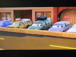 100 Pizza Planet Truck Incredibles And Here He Is Watching The Race In Radiator Springs At The