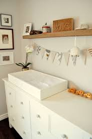 Hemnes 3 Drawer Dresser As Changing Table by Living Beautifully One Diy Step At A Time Nursery Reveal