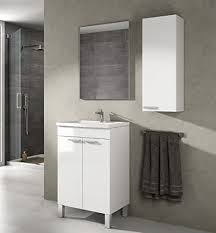 schrank bad oder wc zum aufhängen an der wand weiß glanz 30 x 85 x 25 cm