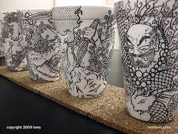 Styrofoam Cup Transformations By Boey music art film review