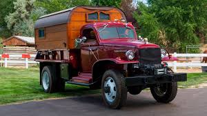 100 Military Chevy Truck WWII Army Converted Into Camper Goes To Auction