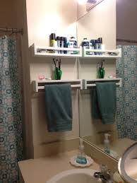 Espresso Bathroom Wall Cabinet With Towel Bar by 25 Ways To Use Ikea Bekvam Spice Racks At Home Hand Towels