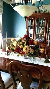 Artificial Flower Arrangements For Dining Room Table Tables Floral Arrangement Centerpiece