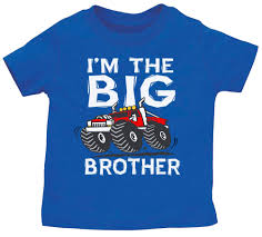 100 Monster Truck T Shirts Lil Big Brother Oddler Youth Ee Shirt