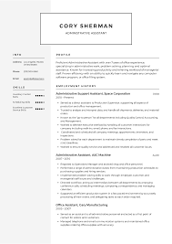 Administrative Assistant Resume Templates 2019 (Free ... Virtual Assistant Resume Sample Most Useful Best 25 Free Administrative Assistant Template Executive To Ceo Awesome Leading Professional Store Cover Unforgettable Examples Busradio Samples New And Templates Visualcv 10 Administrative Resume 2015 1