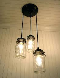 Mason Jar Kitchen Lighting Cosy Pendant Light Excellent Small Decoration Ideas With