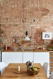décoration cuisine mur de brique la rochelle 7666 29431141