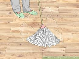 Does Steam Clean Hardwood Floors by How To Clean Engineered Hardwood Floors 13 Steps With Pictures