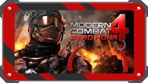 modern combat 4 zero hour скачать 1 2 2e на android