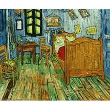 schlafzimmer bei arles gogh berühmte gemälde
