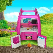 Power Wheels Barbie Dream Camper Ride-On Vehicle - Walmart ...