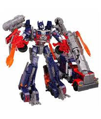 Transformers Leader Class Optimus Prime Robot To Truck Converting ...