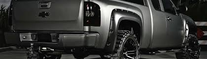 100 Wheel Flares For Trucks Fender For Jeeps SUVs Universal Custom Fit