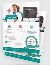 Seamless Medical Poster Template