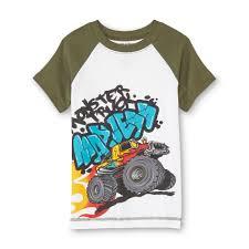 100 Monster Truck Pajamas Joe Boxer Boys Pajama Shirt Pants S