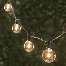 string lights 25 ft length with 25 lights