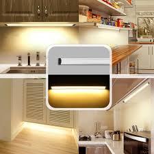 50cm Under Cabinet Cupboard Counter LED Light Lamp Strip US Plug Adapter Lightbar Home Kitchen