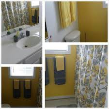 Yellow Gray And Teal Bathroom by Yellow And Gray Bathroom Accessories Designing Inspiration Best 25