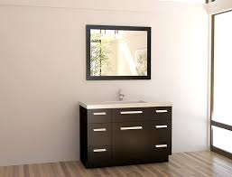 Allen And Roth 36 Bathroom Vanities by Design Element Moscony Single Sink Vanity Set With Espresso Finish