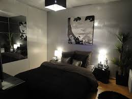 Bedroom Inspirational Decoration Ideas Grey Black For Masculine Design With Modern Badroom Also