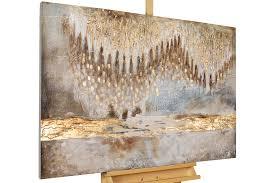 acryl gemälde tropfsteinhöhle 120x80cm moderne kunst