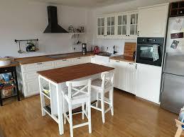 hochwertige ikea küche im stylischen landhaus stil