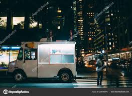 100 Ice Cream Truck Names White Food Parked City Street Buildings Using Retail Business