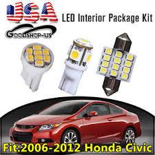 11pcs interior led light bulb package kit white for 2006 2012