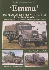 100 Army 5 Ton Truck Emma The MAN 630 L2A L2AE In Modern German