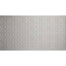 White Tin Ceiling Tiles Home Depot by 2 X 4 Plastic Ceiling Tiles Ceilings The Home Depot