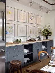 Eat In Kitchen With A Wall Of Cabinets For Storage Designed By San Francisco Based Design Firm Jute Via Desire To Inspire