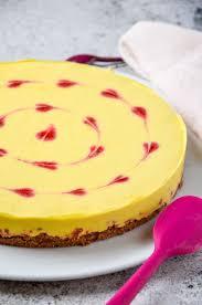 no bake mango torte mit herzen valentinstag muttertag