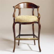 Century Chair Curved Back Barstool by Century Baer s Furniture