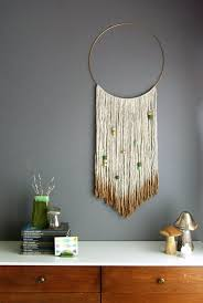 Gold Dipped Yarn Hanging Via Oleander And Palm