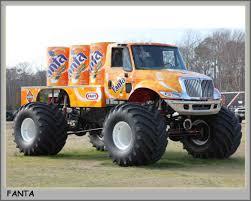 100 Monster Truck Pulls Fanta Orange Monster Truck International S Pinterest