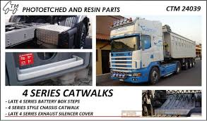 100 Resin Model Truck Parts Scania 4 Series Catwalks Czech Carmodelkitcom
