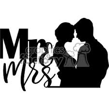 Royalty Free Mr Mrs Svg Cut File 403015 Vector Clip Art Image