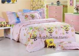 Spongebob Bedroom Set by Pink Spongebob Bedding For Girls Kids Bedding
