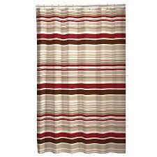 Curved Curtain Rod Kohls by Shower Curtains Striped Shower Curtain Multicolor Bathroom