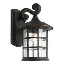 coventry outdoor wall light 1 lt small large bronze 60w es ip43
