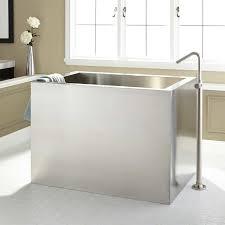 Chandelier Over Bathtub Soaking Tub by 48