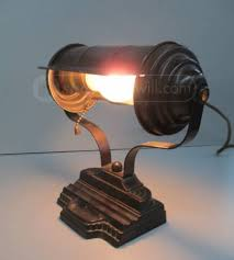 Antique Bankers Lamp Green by Vintage Art Deco Bankers Desk Lamp Goodwill Finds Pinterest