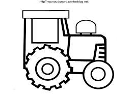 Coloriage Tracteur Zenika