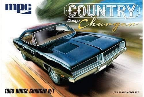 MPC Plastic Model Kit - 1/25, 1969 Dodge Country Charger