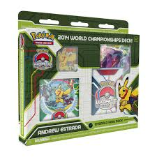 2014 world chionships deck pokémon trading card game