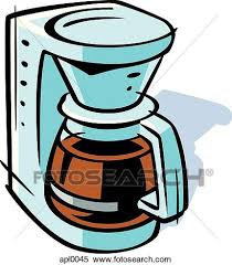 Stock Illustration Of Drawing A Coffee Maker Apl0045